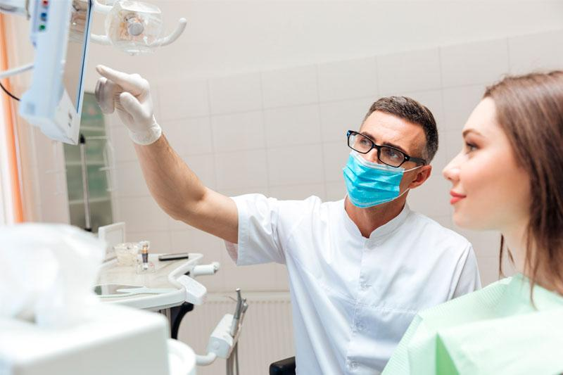 Рентген нижней челюсти
